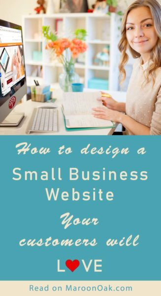 Smart design can turn a good website into a winner! But what counts & where should you focus, to design a small business website your customers love.