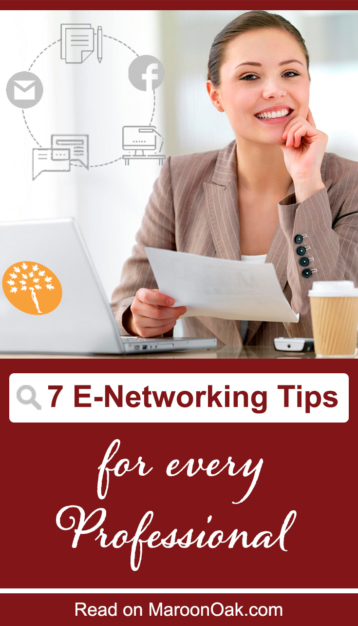 Are you networking online, with quality interactions on Zoom, Email & Social with prospects & clients? Try the proven e-Networking tips every Entrepreneur Needs. #onlinenetworking