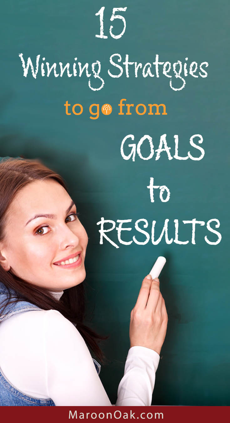 Do you have great ideas and goals for your business and self? To find success, most will need a well thought out plan and systematic execution. Find out how you can go from Goals to results - 15 strategies to succeed in this year and beyond.