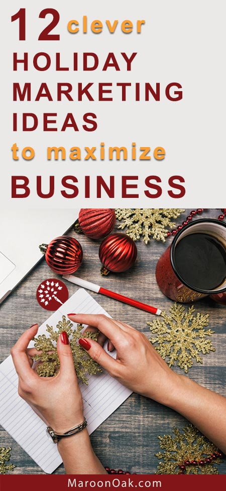 Whether your business sells products or provides great services, holidays are a great time to express gratitude to existing clientele as well as boost business and promos to prospects. Have you tried these 12 clever holiday marketing ideas to maximize business?