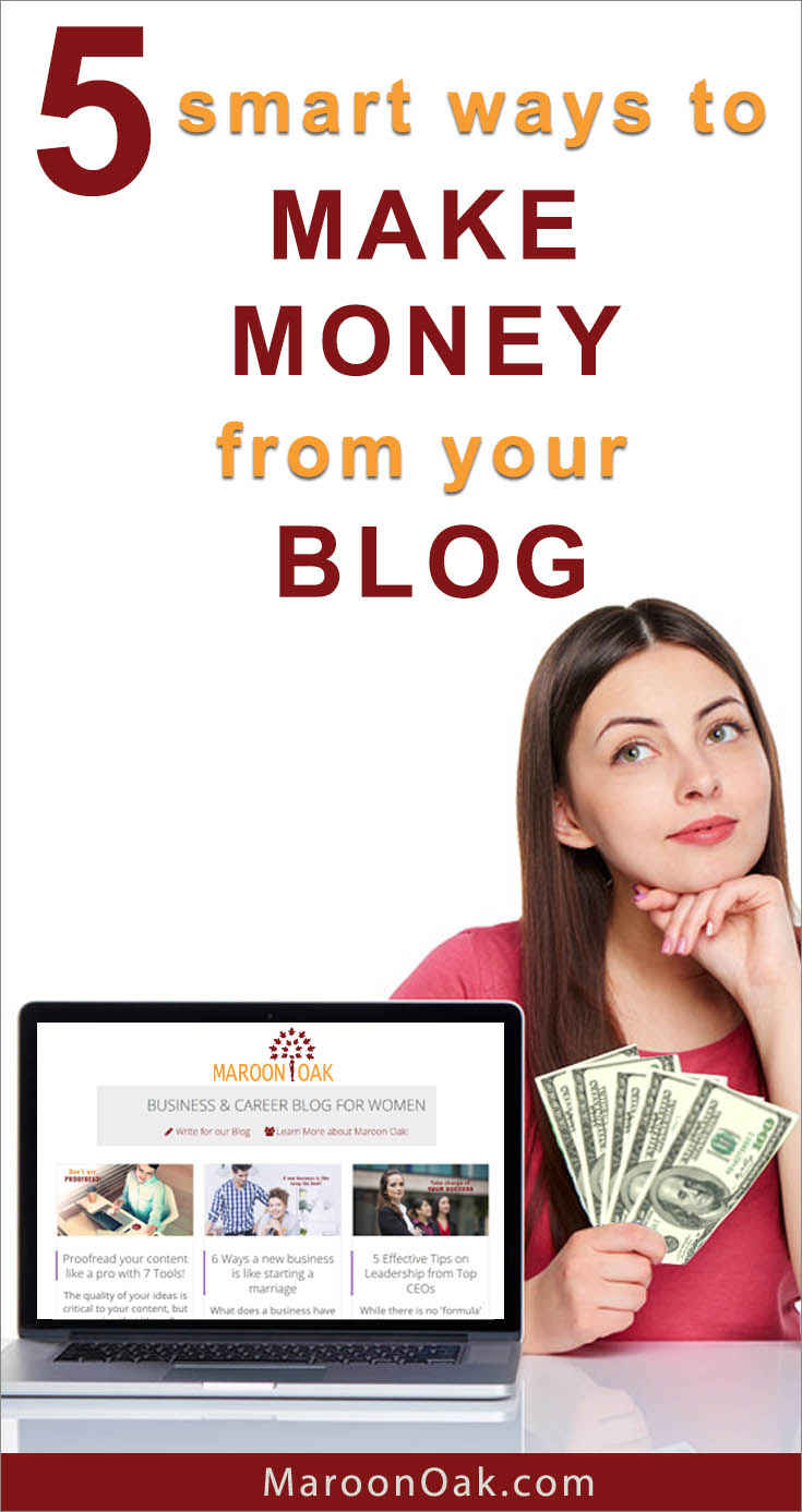 Whether you blog as a hobby or professionally, there are many viable options and smart ways to monetize it. Learn how to earn money from your Blog by using some of these tricks and avenues.