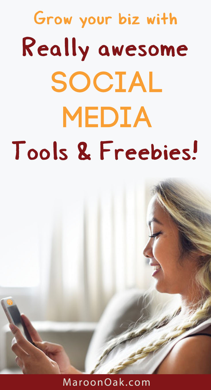 Grow your business with really awesome social media tools and freebies from the pros.