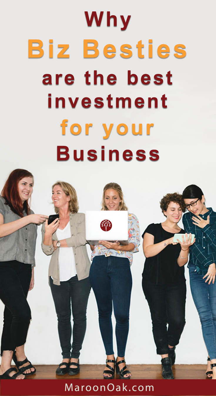Biz besties are your ally, champion, spokesperson, supporter and more... Even if the relationship is not formal, it can be very rewarding for your business in so many ways. Learn the secrets - why business besties are the best investment for an entrepreneur!