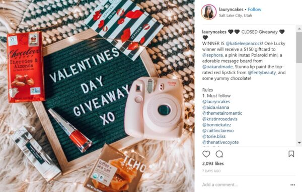 Grow your Instagram brand with winning content - create wins with contests and partnerships!
