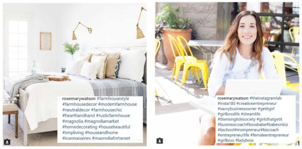 Grow your Instagram brand with winning content - use different hashtags based on context