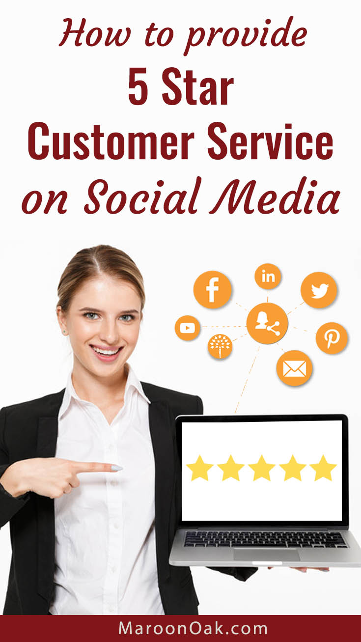 Whether your product is on the web or an app, chances are that you will interact with your customers and prospects on social. How do you ensure that you provide 5 star customer service on social media.