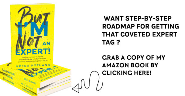 Meera Kothand's book - best practices for lead magnets that convert