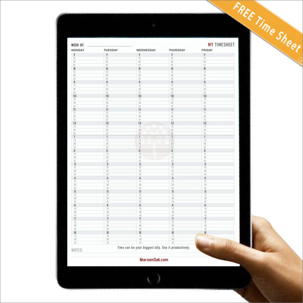 Day Planner Timesheet - Business Tools and Freebies for Productivity