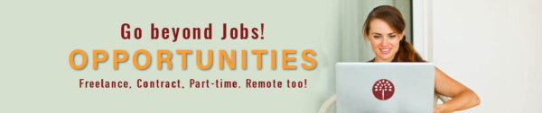 The best Freelance, remote, virtual jobs & opportunities
