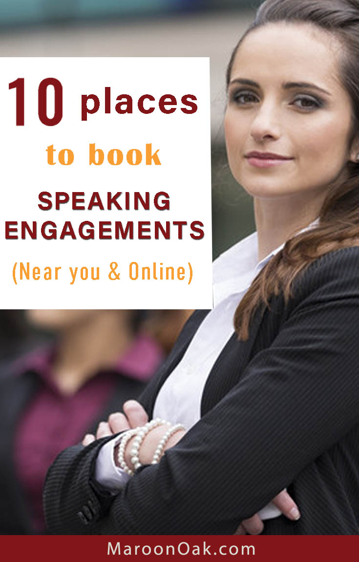 Looking to land paid speaking opportunities to build your brand and business? Explore these 10 great places to book speaking engagements near you & online.