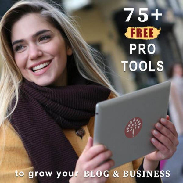 Business tools and freebies on Maroon Oak!
