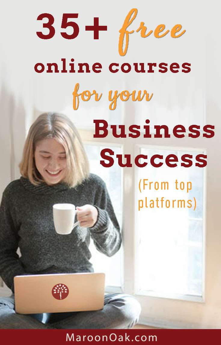 Do you want to skill up? Learn essential business skills with free online classes? Check out this lineup of top 35+ FREE online courses for your business.