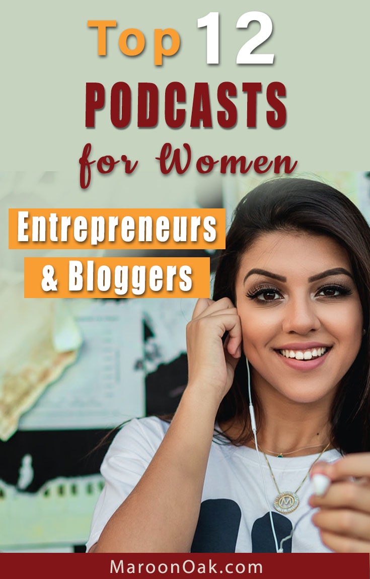 Get awesome insights for your business from the pros! Hear about marketing, profit focus, social media branding & mindset in top Podcasts for women bloggers and entrepreneurs. #podcastsforwomen #podcastsforbusiness #podcastsforbloggers #blogging