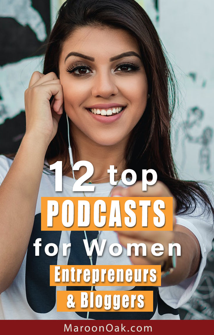 Get awesome insights for your business from the pros! Hear about marketing, profit focus, social media branding & mindset in top Podcasts for women bloggers and entrepreneurs. #podcasts #women #podcastsforbusiness #podcastsforbloggers #blogging #business