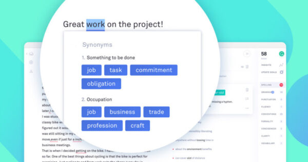Grammarly - free business tools for freelance and online work