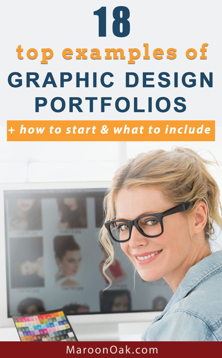 Showcase your work to win clients and projects. Explore these 18 top examples of graphic design portfolios + how to start & what to include. #graphidesign #designportfolios