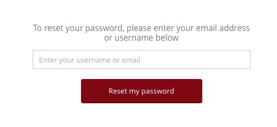 Password Reset Prompt