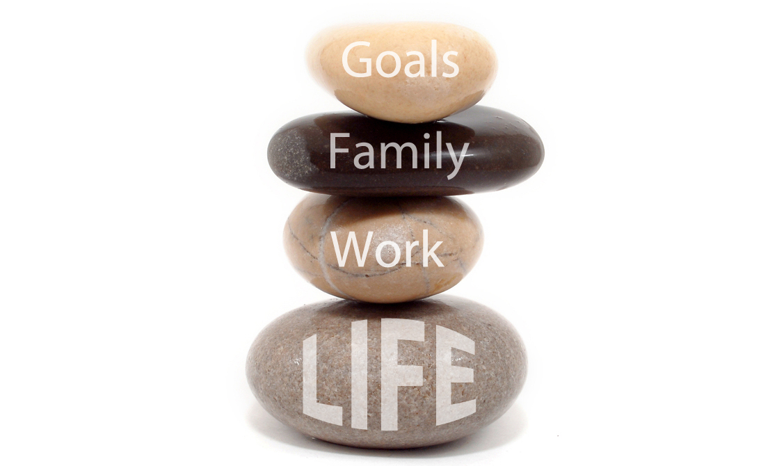 Work Life Balance - working for a balanced life.