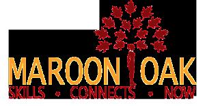 Maroon Oak Logo