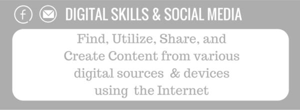 Maroon Oak Infographic -Details on Digital Skills
