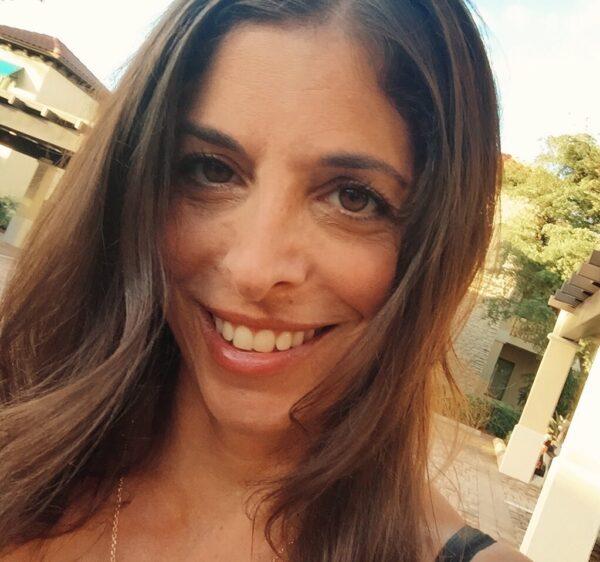 Laurie Tieman on Maroon Oak
