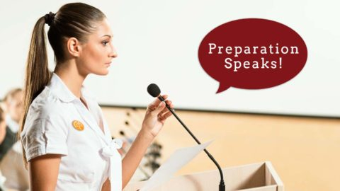 Prep for Successful Public Speaking with 3 Simple Steps
