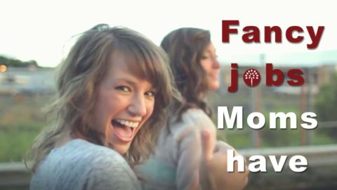 Fancy jobs moms have! Mother's Day $100 Sweepstakes