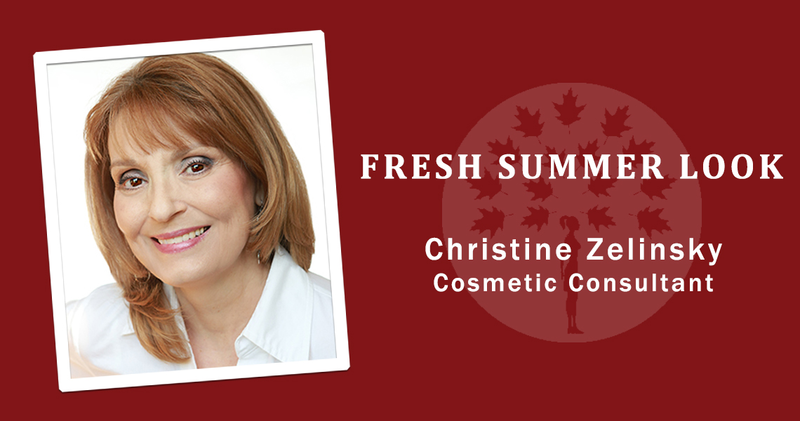 Fresh summer makeup tips by Christine