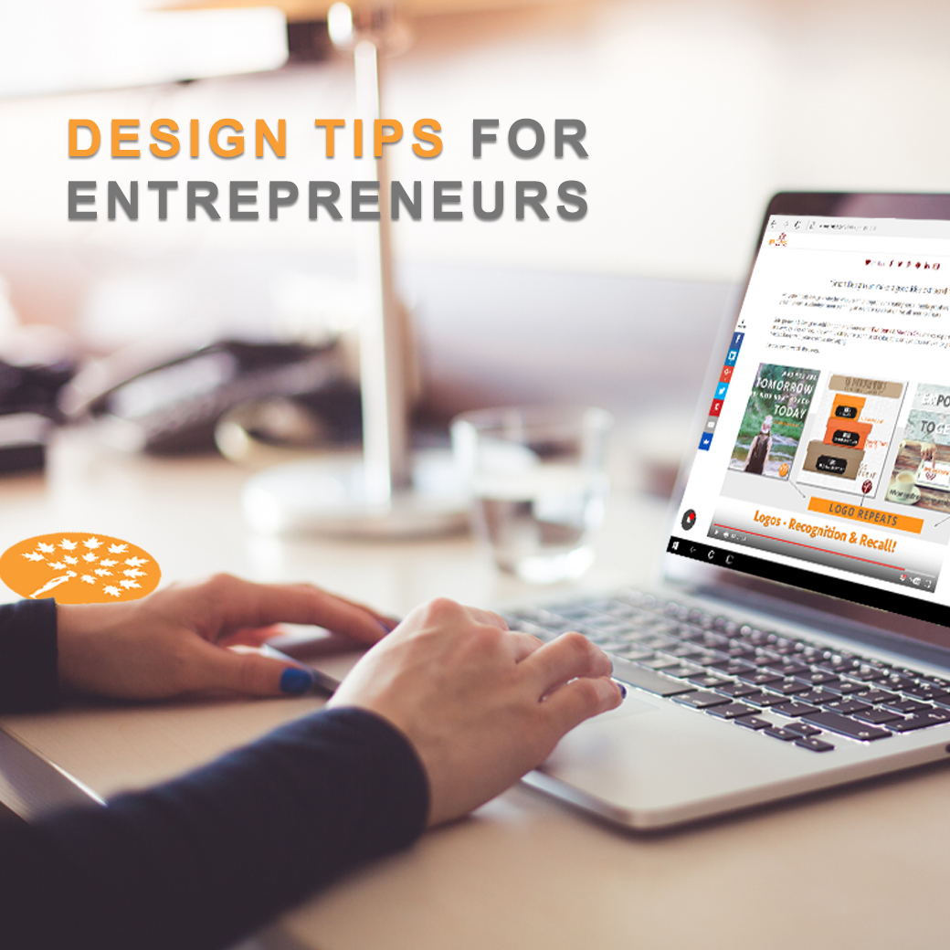 Design Tips for Entrepreneurs on Maroon Oak
