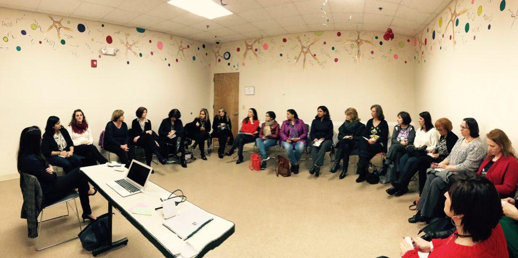 Women Entrepreneurs at the Maroon oak presentation