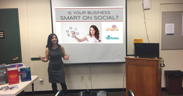 Presenting Social Media Tips for entrepreneurs