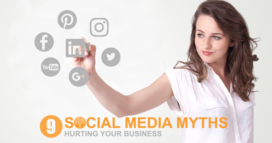 Social Media Myths can hurt a business