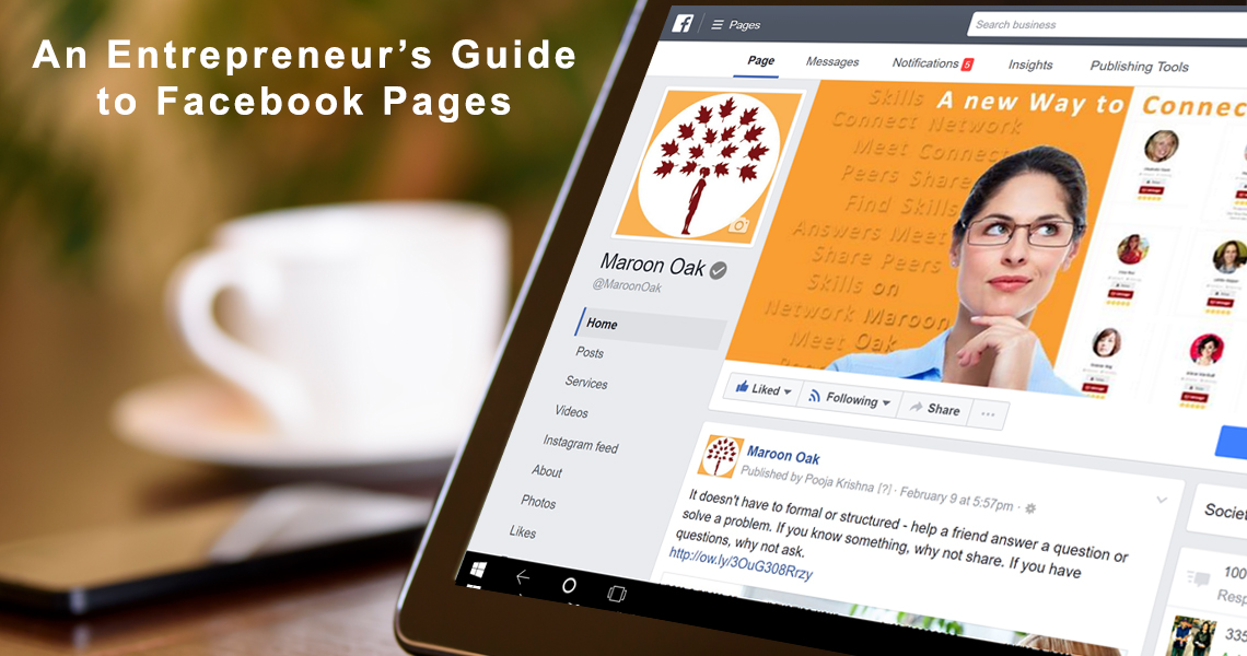 Entrepreneur's Guide to Facebook Pages