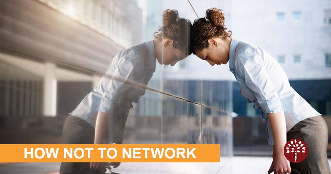 5 Networking Mistakes to Avoid | Maroon Oak