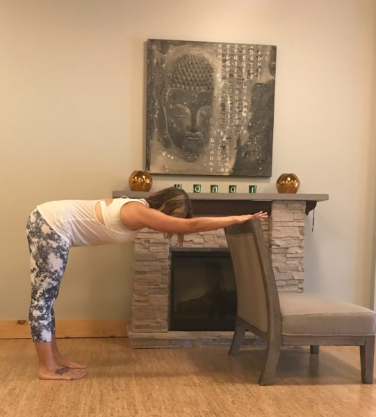 Downward Dog - Power of 5 Minute Desk Yoga