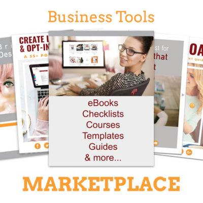 Business Tools Marketplace on Maroon Oak