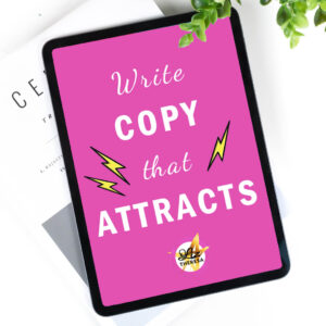 Be a lead magnet . Write copy that attracts!