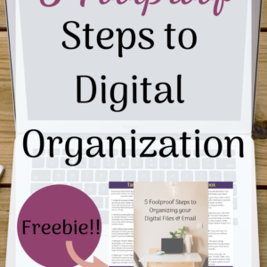 How to Organize your Digital Files & Email