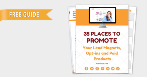 35 Places to Promote your Lead Magnets