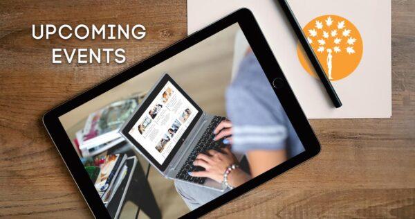virtual events, lives and webinars on Maroon Oak