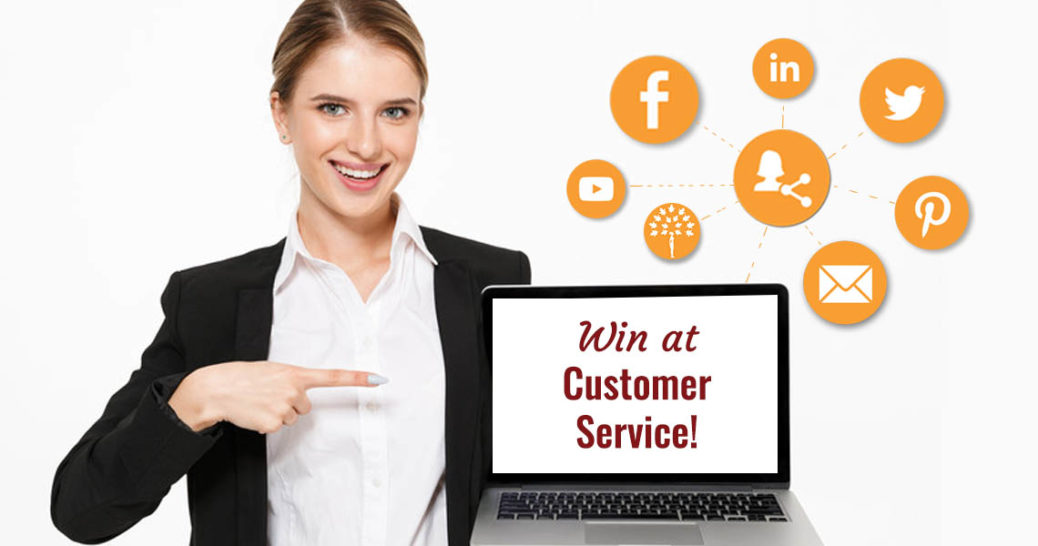 Provide 5 Star Customer Service on Social Media