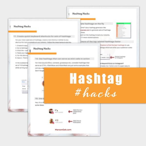 Instagram hashtag hacks