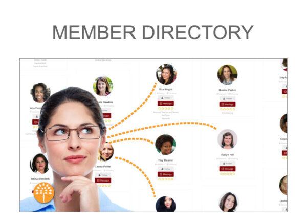 Meet Members on MEMBER DIRECTORY