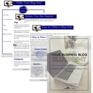 Blog business blueprint - business tools and freebies