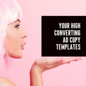 Facebook ad copy template