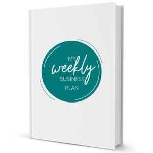 Weekly Business Plan - Business Tools and Freebies on Maroon Oak