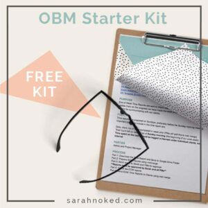 How to start as an Online Business Manager - Business Tools and Freebies on Maroon Oak