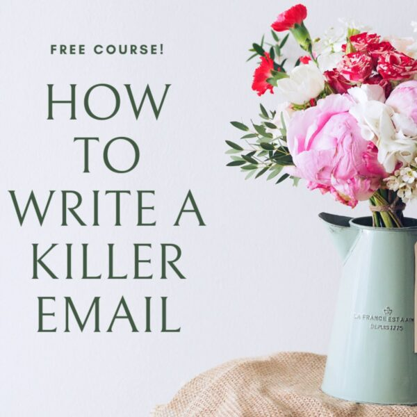 Write a killer email_Business tools and freebies on Maroon Oak