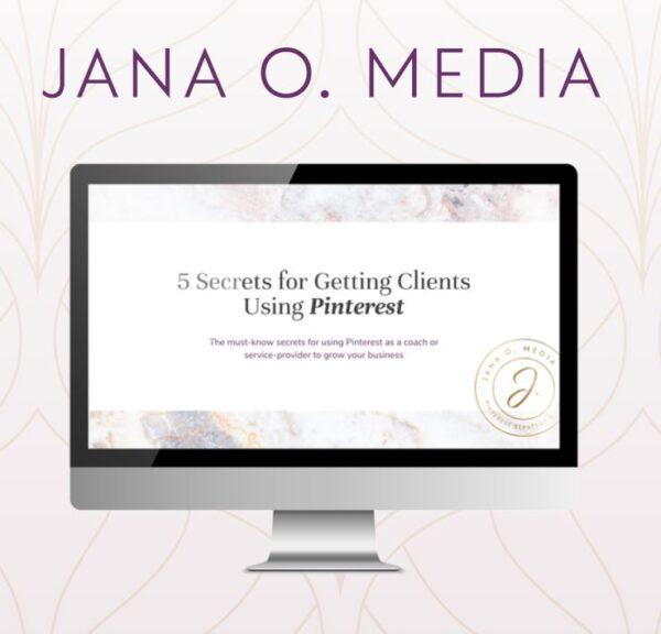 Free Pinterest Masterclass- Business tools & Freebies on Maroon Oak