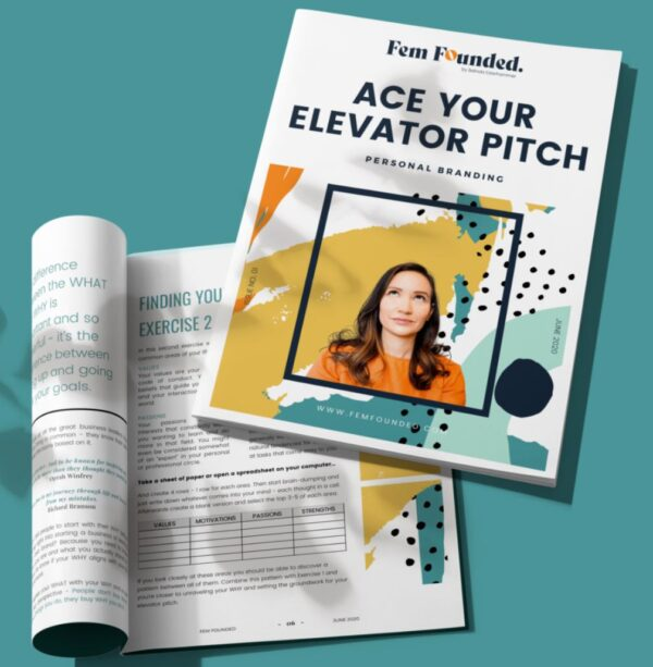 Master Your Elevator Pitch- Business Tools & Freebies on Maroon Oak